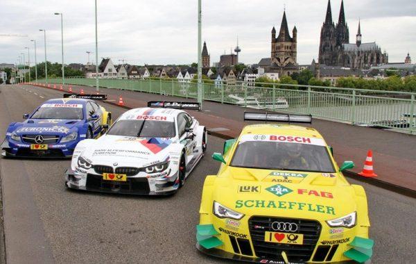DTM PR Photoshooting Köln