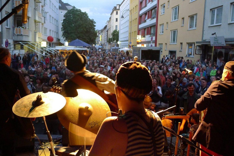 Nachbarschaftsfest Südstadt Bühne